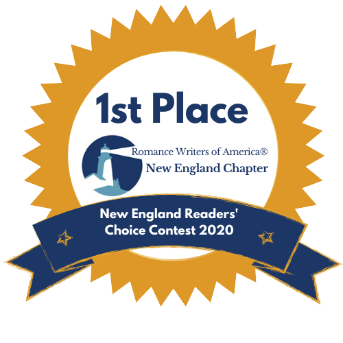 1st Place New England Readers Choice Award, 2020